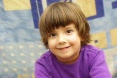 Meisje het glimlachen stock foto