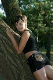 Meisje in het park Royalty-vrije Stock Afbeelding