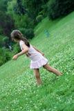 Meisje in het park royalty-vrije stock foto's