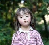 Meisje in het park. Stock Fotografie