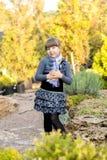 Meisje in het Park Royalty-vrije Stock Foto