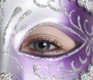Meisje in Masker Royalty-vrije Stock Fotografie