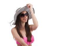 Meisje met bikini royalty-vrije stock foto