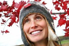 Meisje met een grote glimlach royalty-vrije stock fotografie