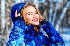 Meisje met gelukkige glimlach royalty-vrije stock fotografie