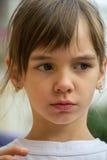 Meisje met grote ogen Royalty-vrije Stock Foto's