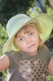 Meisje met hoed Royalty-vrije Stock Afbeeldingen
