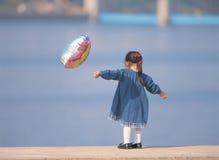 Meisje met Impuls Stock Afbeelding