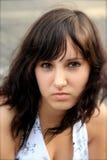 Meisje met karakter Stock Foto