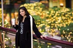 Meisje met Kop Stock Foto