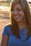 Meisje met Mooie Glimlach stock fotografie