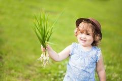 Meisje met ui Stock Foto