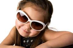 Meisje met zonnebril Royalty-vrije Stock Foto
