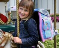 Meisje na de eerste school DA Stock Fotografie