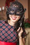Meisje op Carnaval Royalty-vrije Stock Afbeeldingen