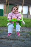 Meisje op Schommeling 2 royalty-vrije stock foto