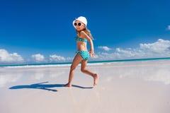 Meisje op vakantie Royalty-vrije Stock Afbeelding