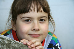 Meisje - portret Royalty-vrije Stock Fotografie