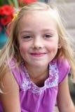 Meisje in Roze. stock fotografie