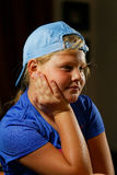 Meisje in sport GLB royalty-vrije stock foto's