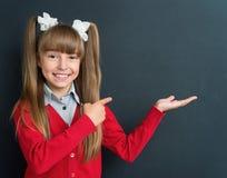 Meisje terug naar school Royalty-vrije Stock Afbeeldingen