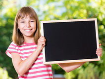 Meisje terug naar school Stock Fotografie