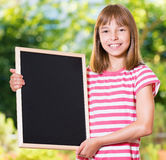 Meisje terug naar school Royalty-vrije Stock Foto