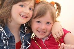Meisje twee Royalty-vrije Stock Afbeeldingen
