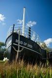 Meisje van Sker-Peddelstoomboot Stock Fotografie