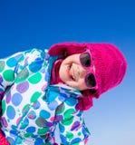 Meisje in wintertijd Royalty-vrije Stock Foto's