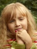 Meisjeportret Royalty-vrije Stock Afbeelding