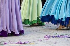 Meisjes het dansen Stock Afbeelding