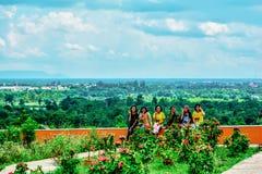Meisjes het glimlachen Royalty-vrije Stock Foto