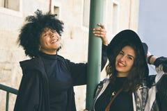 Meisjes het glimlachen Royalty-vrije Stock Fotografie
