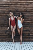 Meisjes met stijl Stock Fotografie