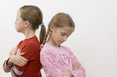 Meisjes/problemen Stock Foto's
