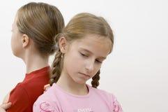 Meisjes/problemen royalty-vrije stock afbeelding