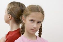 Meisjes/problemen royalty-vrije stock foto's