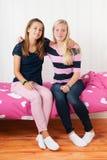 meisjes samen Stock Foto's
