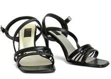 Meisjesachtige schoenen Royalty-vrije Stock Foto's