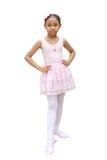 Meisjesballetdanser Royalty-vrije Stock Afbeelding