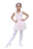 Meisjesballetdanser Stock Afbeelding