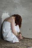 Meisjeshanden verbindende gevangene Royalty-vrije Stock Afbeelding
