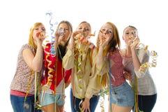 Meisjespartij Stock Afbeelding