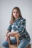 Meisjesportret Stock Fotografie