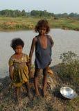 Meisjesstatus in Landelijk India Royalty-vrije Stock Foto's