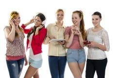 Meisjesvrije tijd met pret Royalty-vrije Stock Fotografie