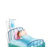 Meisjeszieken Royalty-vrije Illustratie