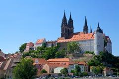 Meissen城堡 免版税库存照片