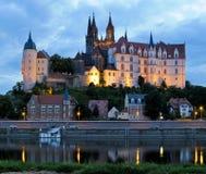 Meissen στην αυγή Στοκ φωτογραφίες με δικαίωμα ελεύθερης χρήσης